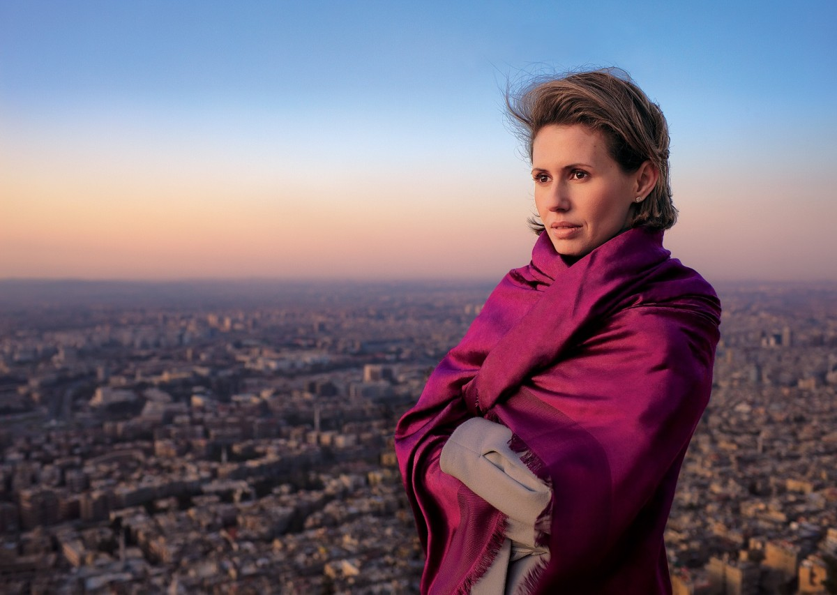 A Love Letter to Asma Al-Assad, Wife of the Syrian ...