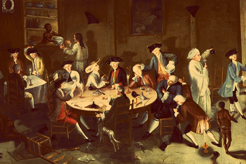 Ain't no party like a 1780s party...