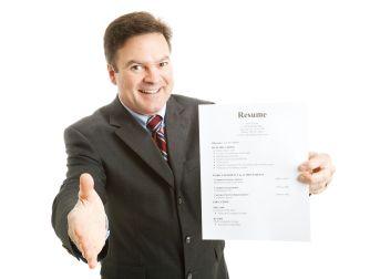 Confident Job Applicant